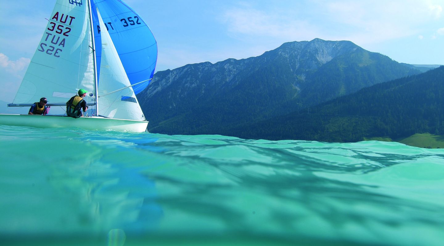 Sailing on the Achensee @Achensee Tourismus