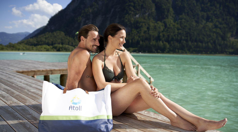 Atoll Achensee - LAKE pool @Achensee Tourismus