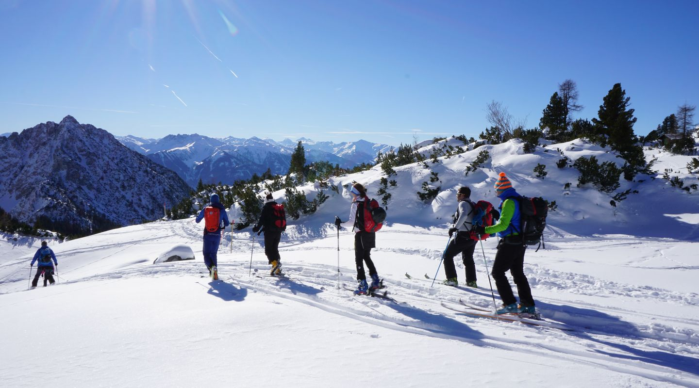 Ski touring camp on the Achensee @Achensee Tourismus