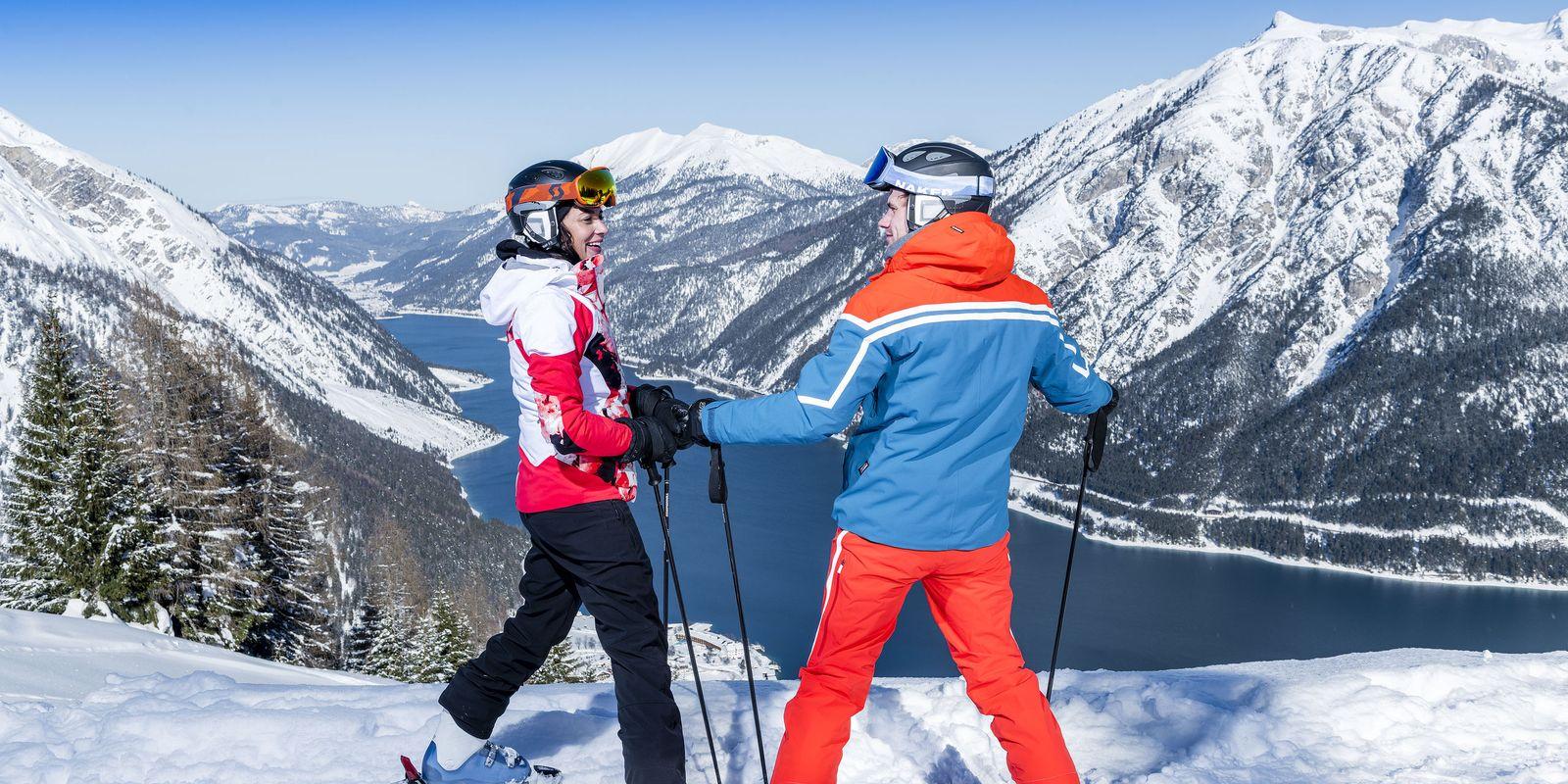 Skifahren am Zwölferkopf Peritsau @Achensee Tourismus