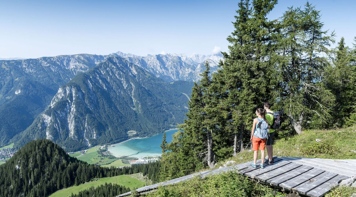 Hiking in the Rofan mountains @Achensee Tourismus