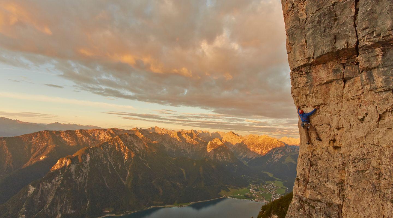 Klettern am Rotspitz @Achensee Tourismus