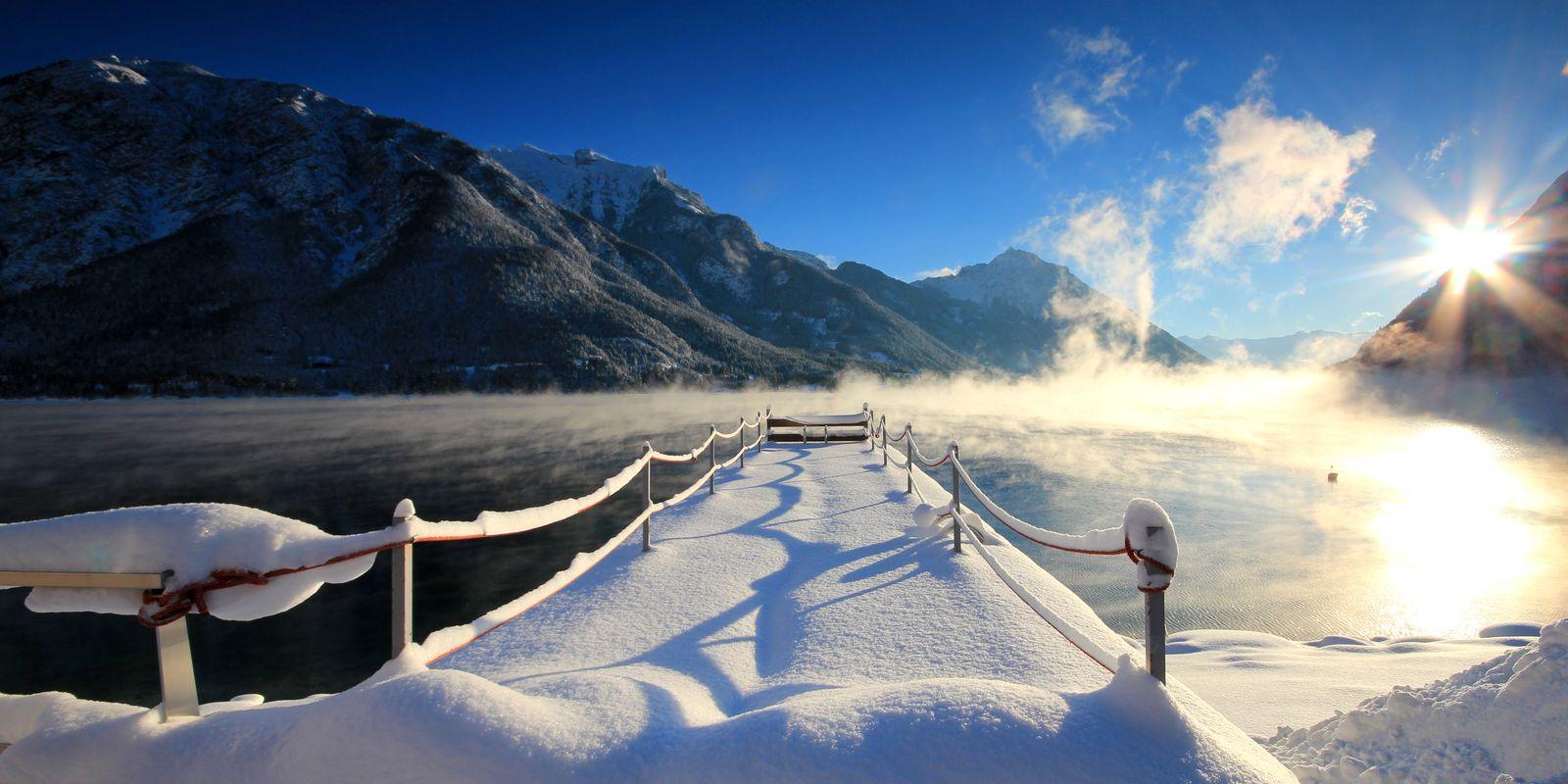 Winterstimmung am See @Achensee Tourismus
