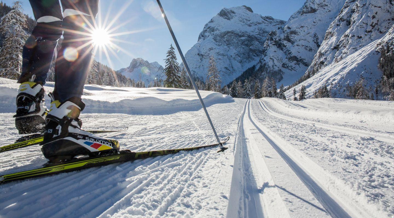 Langlaufen in der Flazthurn-Gramai Loipe @Achensee Tourismus